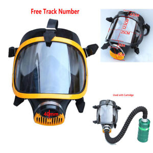 Paint Spraying Soviet Military Full Face Gas Mask Respirator Filter Mask 40mm