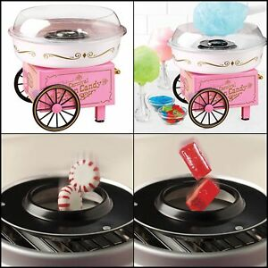 Cotton Candy Maker Electric Machine Vintage Nostalgia Hard And Sugar Free Cotton