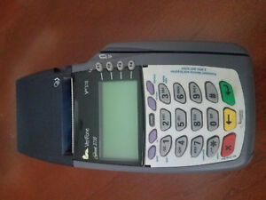 Verifone Omni 3730 Vx510 Credit Card Terminal Great Condition No Power Supply