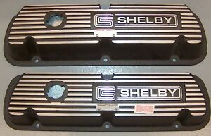 Nos Ford S9ms 6a582 a Shelby Autosport cs Shelby 351 Windsor Valve Covers