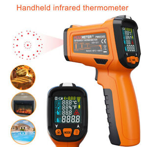 Temperature Gun Non contact Infrared Ir Laser Digital Thermometer Approved Tool