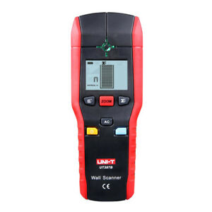 Ut387b Handheld Digital Wall Detector Metal Wood Ac Cable Finder Scanner