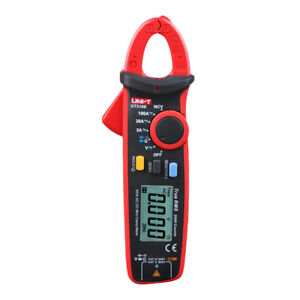 Ut210e Rms Digital Lcd Clamp Ac Dc Volt Current Ohm Tester Multi meter