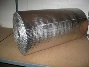 3 16 Insulated Metalized Mylar Double Foil Bubble Wrap 24 X 125 Per Roll