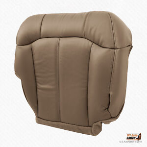 1999 2000 Chevy Silverado 1500 2500 Passenger Bottom Vinyl Seat Cover Med Tan