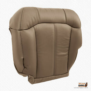 2001 2002 Chevy Silverado 2500 2500hd Driver Bottom Synthetic Leather Cover Tan
