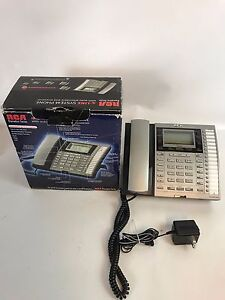 Rca Executive Series 4 line System 25415re3 Multi Line Business Corded Phone