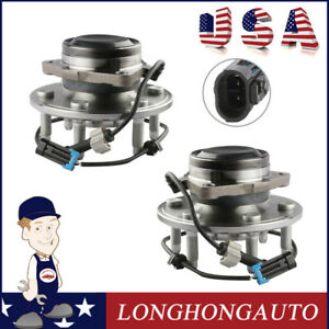 2x Front Wheel Hub Bearing Assembly Fit 99 13 Chevrolet Cadillac Gmc 515053 2wd