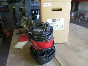 Red Jacket Submersible Water Pump 1213936j Cat rec0412 4 10hp 230v Nib