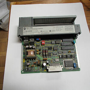 Allen bradley Slc 500 Analog Combination I o Module 1746 nio4v Series A