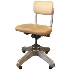 Goodform Rolling Adjustable Office Chair By The General Fireproofing Company