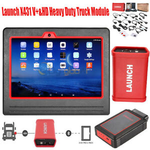 Launch X431 V Tablet Scanner Auto Diagnostic Tool Full System heavy duty Module