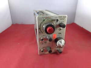 Tektronix Type 10a1 Differential Amplifier Vintage