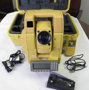 Topcon Gts 820a Series Gts 825a 5 Robotic Total Station With Rc 2rii Remote