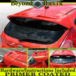 2011 2018 Ford Fiesta Hatchback St Factory Style Spoiler Wing Primer