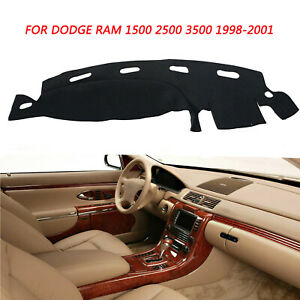 For Dodge Ram 1500 2500 3500 Dash Cover Mat Dashmat 1998 1999 2000 2001 Gray