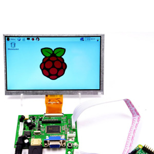 Makerfire 7 inch Raspberry Pi Lcd Display Screen Tft Monitor With Hdmi Vga Inpu