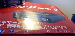 Greddy Profec B Spec Ii Electronic Boost Controller Black New Turbo