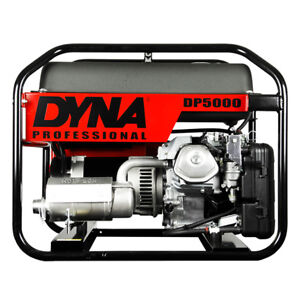 Winco Dp5000 Dyna Power Series Portable Generator 5000 Watt Gas 120v Honda