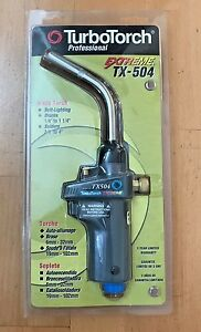 New Turbotorch Tx504 Self Lighting Extreme Hand Torch 0386 1293