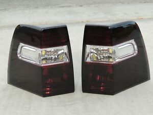 07 17 Expedition Smoked Tail Lights Custom Oe Black Tinted Non Led Painted