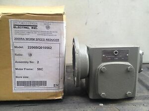 Sterling Electric 2000ra Worm Speed Reducer 10 1 New in box