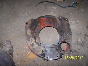 Ac Allis Chalmers 160 Tractor Engine Rear Cover Plate Housing