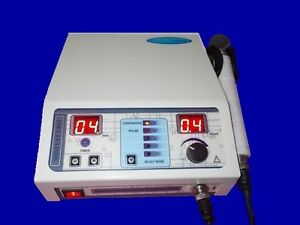 1 Mhz Ultrasound Therapy Machine Portable Chiropractic Deep Heat Tissue Drte
