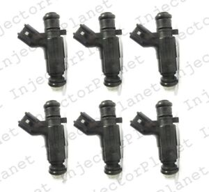 Set Of 6 Bosch 0280156131 Injector 2005 2008 Buick Lacrosse 3 6l V6 Ly7 12571159