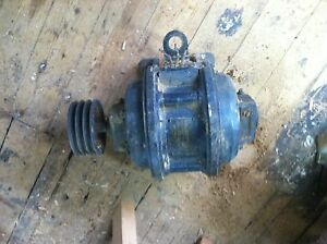 Antique General Electric Textile Mill Motor Kt 936 5 Hp 220 V 3 Phase Rare