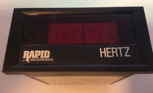 Crompton Instruments 262 Dgfu 4 Digit Aux Power Ac Frequency Panel Meter