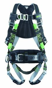Miller Revolution Full Body Safety Harness W Front D ring L xl Rdtfdsl qc bdp
