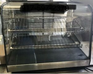 Used Federal Cd3628 Commercial Illuminated Dry Counter top Bakery Display Case