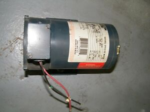 Boston Gear Variable Speed Dc Motor 63202 1 3 Hp