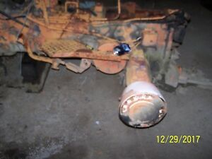 Ac Allis Chalmers 160 Tractor Left Rear Axle And Housing Assm