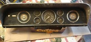 Ford Dash With Speedo Etc Cluster C8tf 10848 Vintage 1968 Maybe Hd Truck 5 Guage