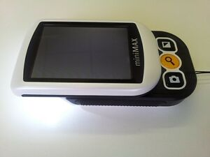 Minimax 2 8 Lcd Color Video Low Vision Magnifier 3 Hr Battery By Reinecker