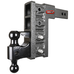 Drop Hitch 2 5 Receiver Class V 21k Towing Hitch Gh 624 Combo Includes Dual