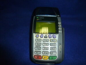 Used Verifone Omni 3750 Credit Card Terminal Reader With Card Insert