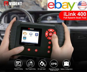 Vident Ilink400 Chrysler Dodge Jeep Oe Level Full System Diagnostic Scan Tool Us