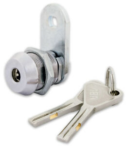 High Security Cam Lock With 3 8 Cylinder Keyed Alike 4 Pack