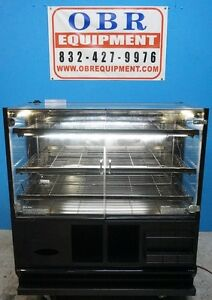 48 Dry Bakery Display Case With Lights