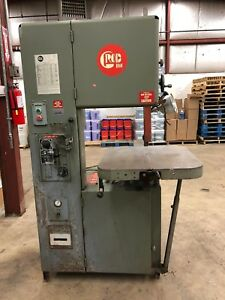 Used Grob Inc Vertical Band Saw 4v 18