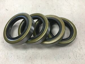 Qty 4 10 19 171255tb Double Lip Seals For 3500lb Trailer Axles Free Shipping