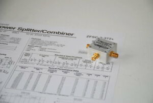 Mini circuits Zfsc 2 372 s Combiner Splitter 10 3700mhz Used rca2