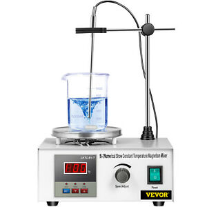 Magnetic Stirrer With Heating Plate 85 2 Hotplate Mixer 110v Digital Display Us