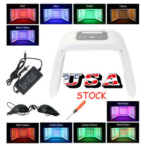 New Led Phototherapy Red Blue Green Yellow Skin Rejuvenation Skin Care 10 Colors