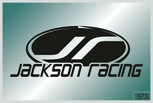 Jackson Racing 2 Pcs Stickers High Quality Decals Different Colors 573