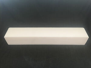 Molded Teflon Ptfe Tfm 1600 Sheet Plastic 3 50 Thick X 24 Long X 4 Wide