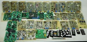 72 Circuit Boards Huge Lot Beckman Coulter Control Computer Hardware Data Bm
